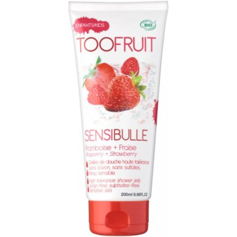 "Гель для душа ""Клубника & Малина"" - Toofruit Sensibulle Raspberry Strawberry Shower Jelly"