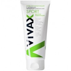 Крем регенерирующий с активными пептидными комплексами - VIVAX Sport