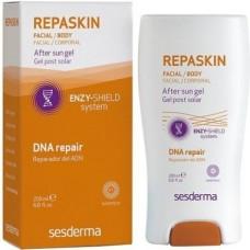Восстанавливающий гель после солнца  - SesDermaREPASKIN Facial/Body After Sun gel